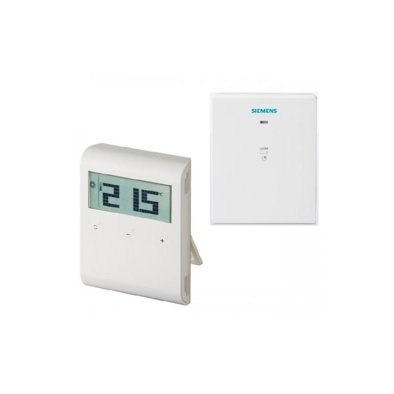 Poza Termostat wireless neprogramabil Siemens RDD100.1RFS, digital. Poza 10986