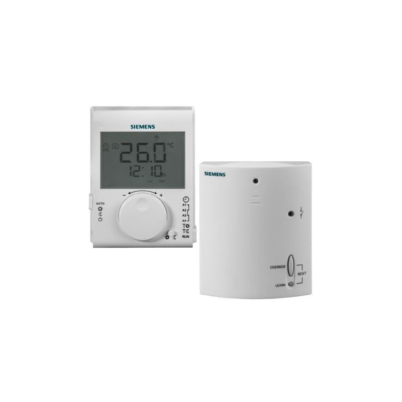 Poza Termostat wireless programabil Siemens RDJ100RF Set, digital. Poza 10988