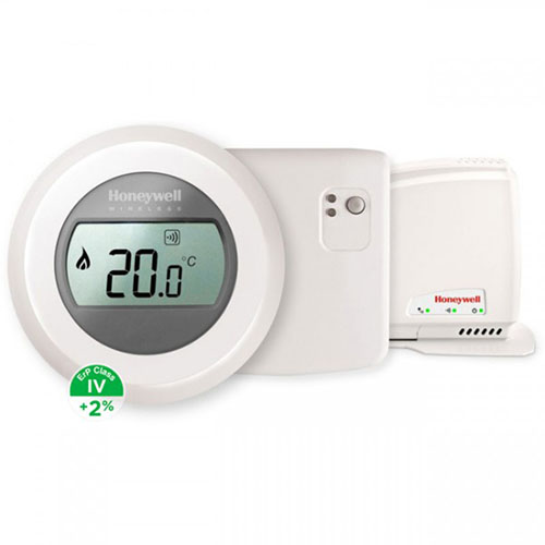 Poza Termostat de ambient Honeywell The Round Wi-fi, control prin internet. Poza 11123