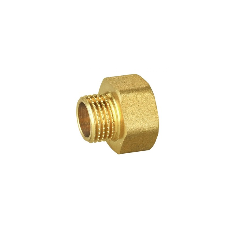 Poza Niplu alama pentru GPL CH25 x CH27 pentru racordarea regulatoarelor de GPL la buteliile de gaz cu racord CH2. Poza 11159