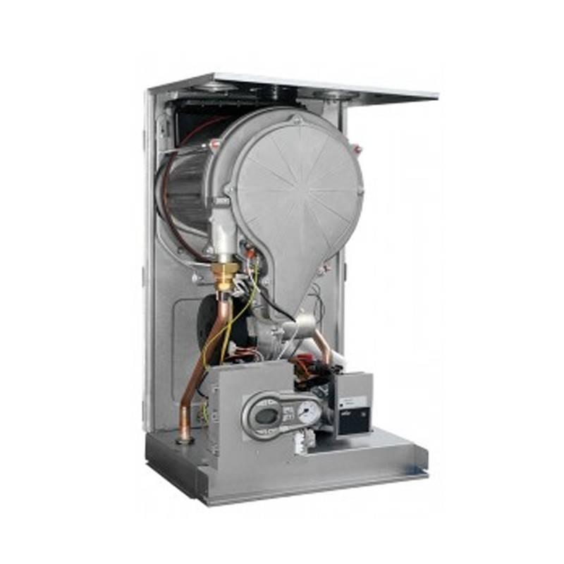 Poza Structura interna centrala termica in condensare Ferroli Bluehelix TECH E 45H 45 kW