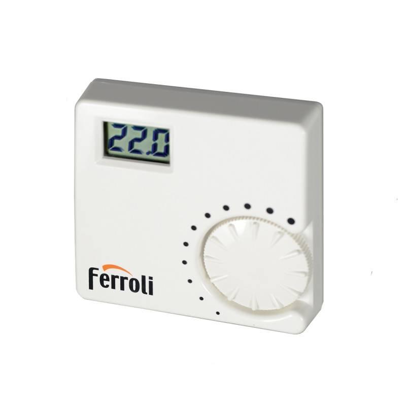 Poza Termostat ambient cu fir Ferroli FER 8