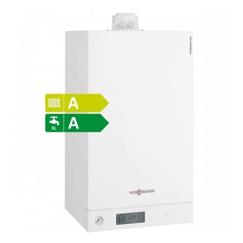 Poza Centrala termica in condensare cu touchscreen Viessmann Vitodens 100-W