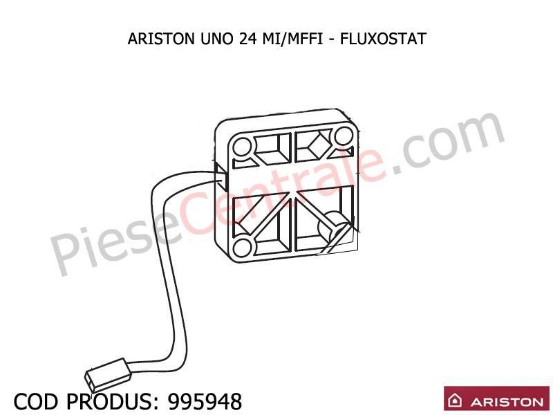 Poza Fluxostat centrale termica Ariston UNO 24 mi/mffi