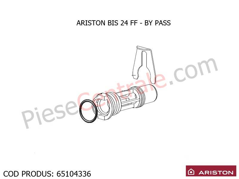 Poza By pass centrale termice Ariston BIS 24 FF, EGIS, AS, Clas/Genus Premium