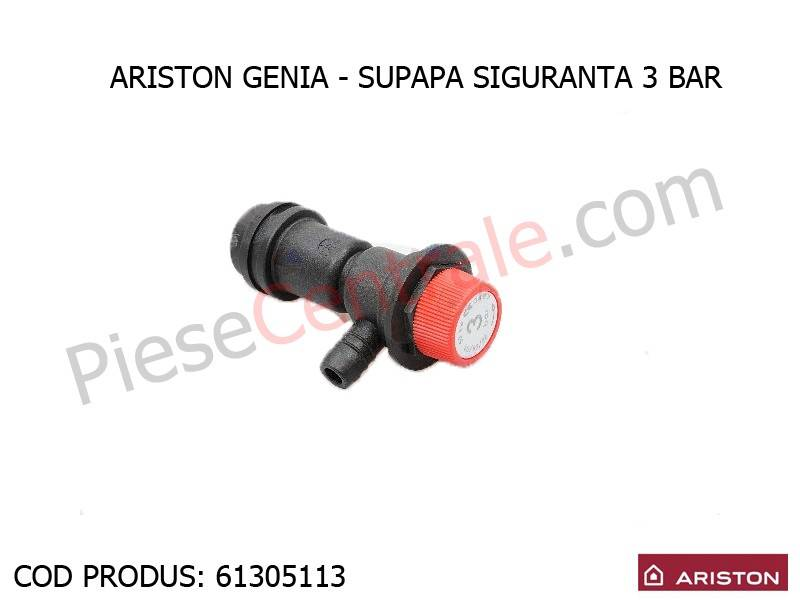 Poza Supapa siguranta 3 bar centrala termica Ariston Genia