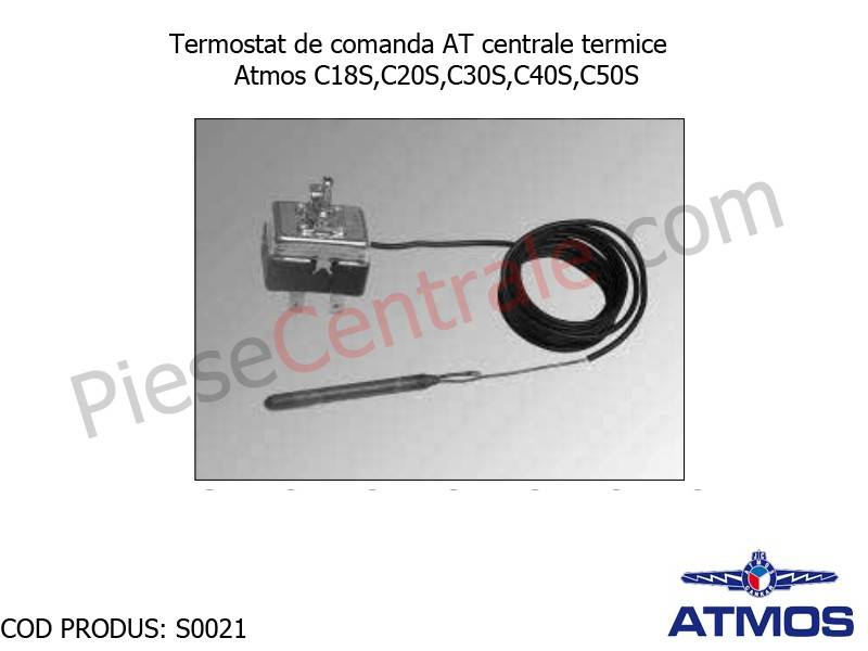 Poza Termostat de comanda AT centrale termice Atmos C18S,C20S,C30S,C40S,C50S