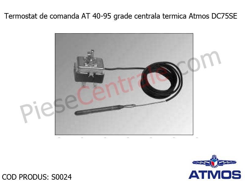 Poza Termostat de comanda AT 40-95 grade centrala termica Atmos DC75SE