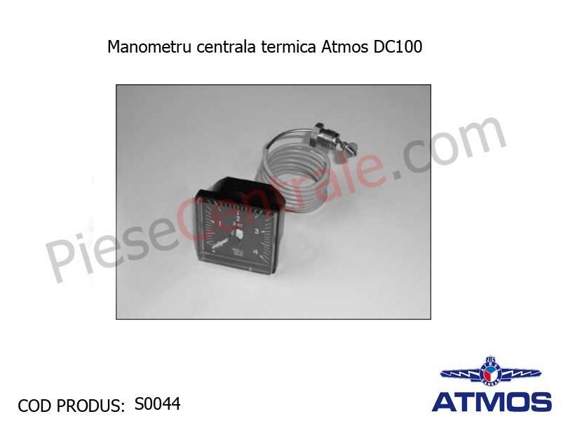 Poza Manometru centrala termica Atmos DC 100