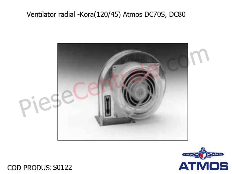Poza Ventilator radial Kora(120/45) Atmos DC70S, DC80