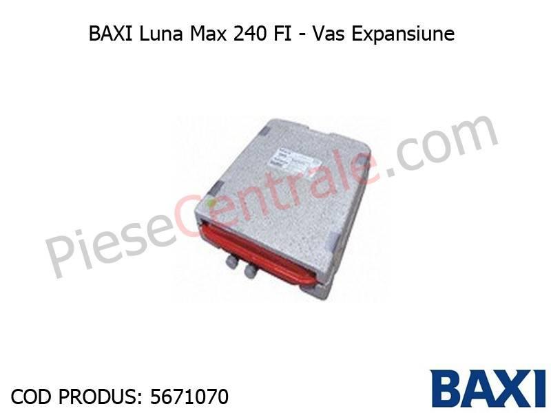 Poza Vas Expansiune Baxi Luna Max 240 FI