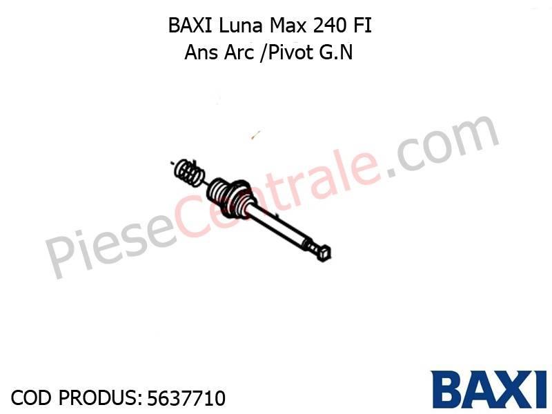 Poza Ans Arc /Pivot G.N Baxi Luna Max 240 FI