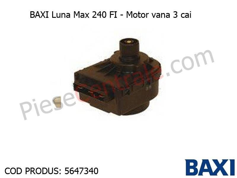 Poza Motor vana 3 cai Baxi Luna Max 240 FI