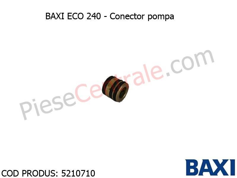 Poza Conector pompa centrala termica Baxi Eco 240
