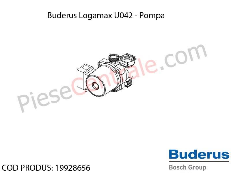 Poza Pompa centrala termica Buderus Logamax U042