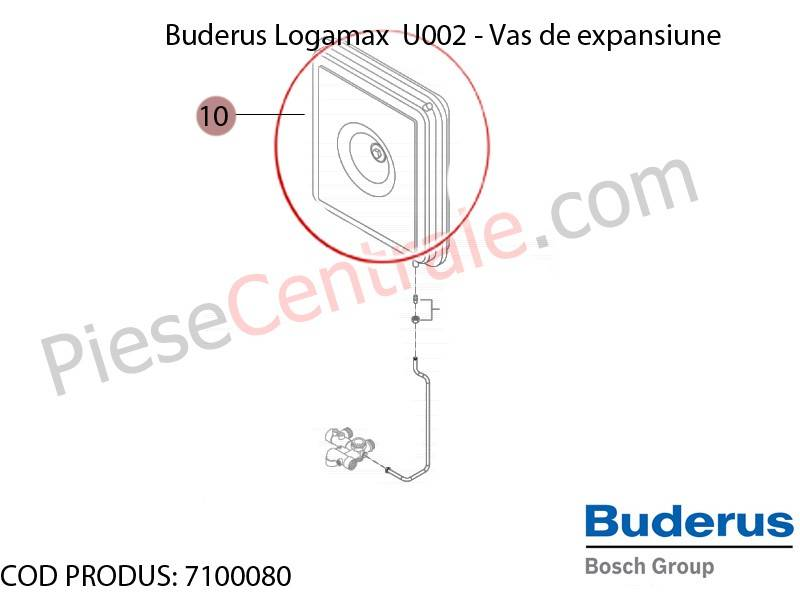 Poza Vas expansiune centrala termica Buderus Logamax U002