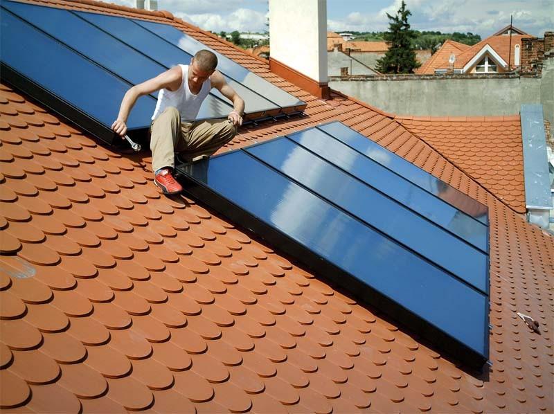 Revizie panouri solare. Poza 58