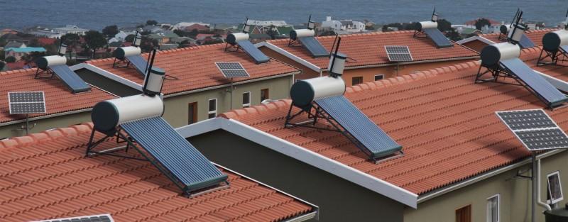 Revizie panouri solare. Poza 61