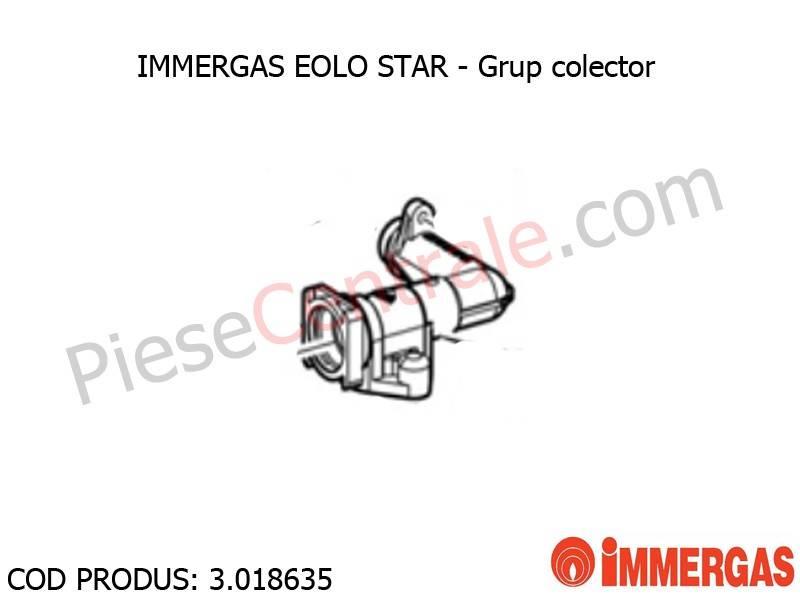 Poza Grup colector centrala termica Immergas Eolo Star