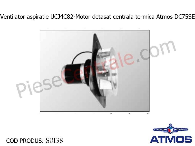 Poza Ventilator aspiratie UCJ4C82-Motor detasat centrala termica Atmos DC75SE