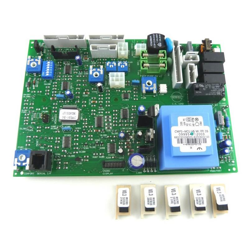 Poza Placa electronica centrale termice Ariston MICROGENUS PLUS MFFI. Poza 8456