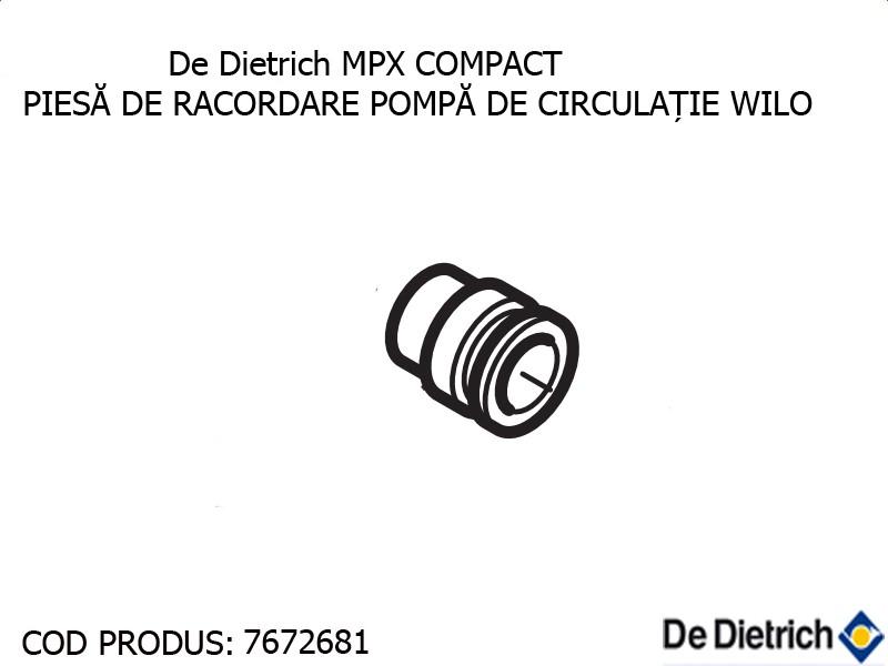 Poza Piesa de racordare pompa de circulatie WILO centrala termica De Dietrich MPX COMPACT