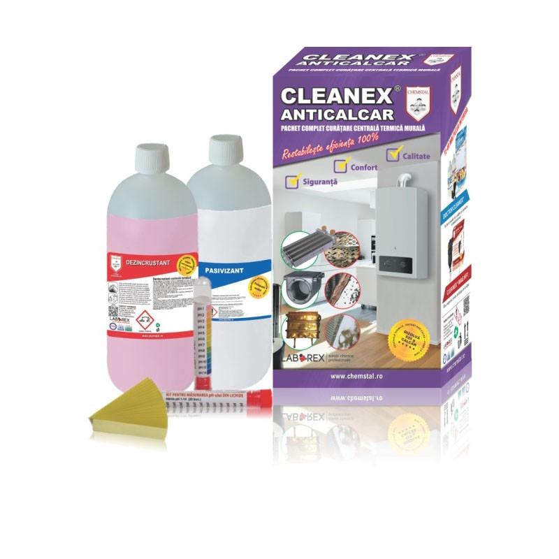 Poza Pachet de curatare pentru centrale termice murale Cleanex Anticalcar. Poza 9379