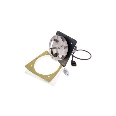 Poza Ventilator complet UCJ4C52 elice 175 mm inchis, condensator, izolatii si tabla centrale termice Atmos DC50. Poza 13446