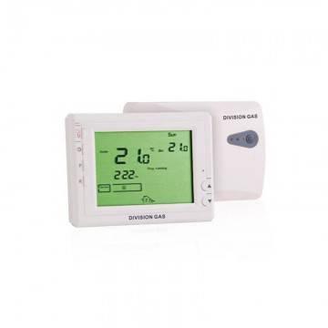 Poza Cronotermostat ambient fara fir (wireless) Division Gaz model DG908WHB-RF