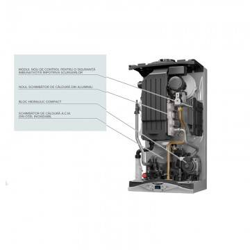 Poza Componente Centrala termica in condensare Ariston CARES PREMIUM 24 EU 24 KW