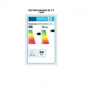 Poza Eticheta energetica  centrala termica in condensare Immergas Victrix MAIOR 35 TT 1 Erp 35 kW