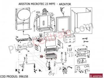 Poza Arzator centrale termice Ariston MICROTEC SI MICROGENUS