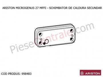 Poza Schimbator de caldura secundar in placi pentru centrale termice Ariston MICROGENUS 27 MFFI