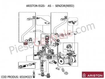 Poza Senzor - reed centrale termice Ariston EGIS, AS, BIS 2