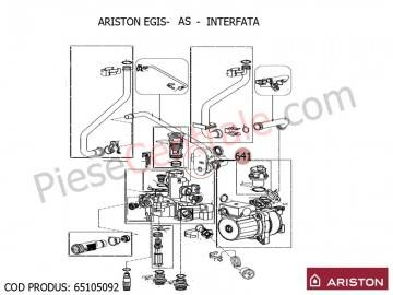 Poza Interfata centrale termice Ariston EGIS, AS