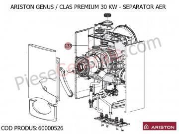 Poza Separator aer centrale termice Ariston Genus, Clas Premium