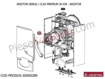 Poza Arzator centrale termice Ariston Genus/Clas Premium