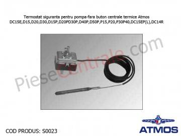 Poza Termostat siguranta pentru pompa-fara buton centrale termice Atmos DC15E,D15,D20,D30,D15P,D20P,D30P,D40P,D50P,P15,P20,P30,P40,DC15EP(L),DC14R