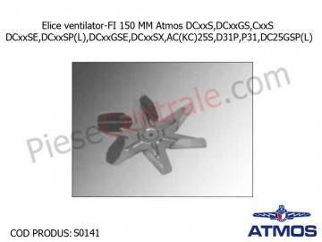 Poza Elice ventilator-FI 150 MM Atmos DCxxS,DCxxGS,CxxS,DCxxSE,DCxxSP(L),DCxxGSE,DCxxSX,AC(KC)25S,D31P,P31,DC25GSP(L)
