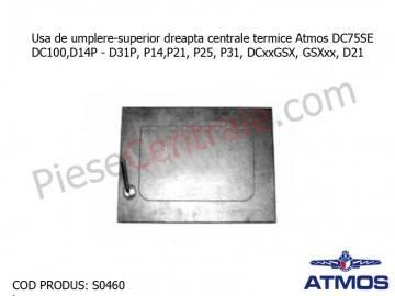 Poza  Usa de umplere-superior dreapta centrale termice Atmos DC75SE, DC100, D14P , D31P, P14,P21, P25, P31, DCxxGSX, GSXxx, D21