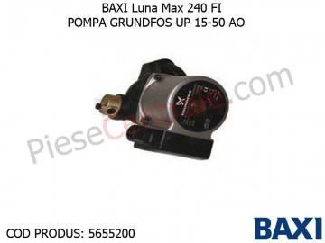 Poza Pompa GRUNDFOS UP 15-50 AO Baxi Luna Max 240 FI, Eco 240