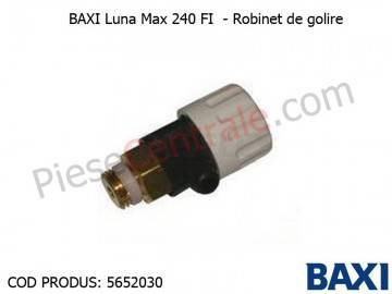 Poza Robinet de golire Baxi Luna Max 240 FI, Eco, Eco3 Compact
