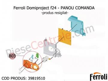 Poza Panou comanda centrala termica Ferroli Domiproject - produs resigilat