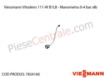 Poza Manometru centrala termica Viessmann Vitodens 111-W B1LB