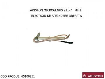 Poza Electrod aprindere dreapta centrale termice Ariston MICROTEC SI MICROGENUS
