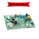 Pachet cu montaj inclus pentru placa electronica centrale termice Ariston Matis 24 FF, BIS II, echipate cu vane CARTIER